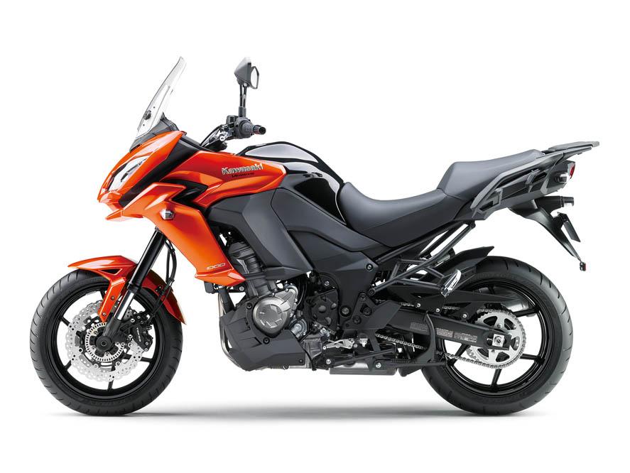 Kawasaki Versys 1000 2015. Fotos