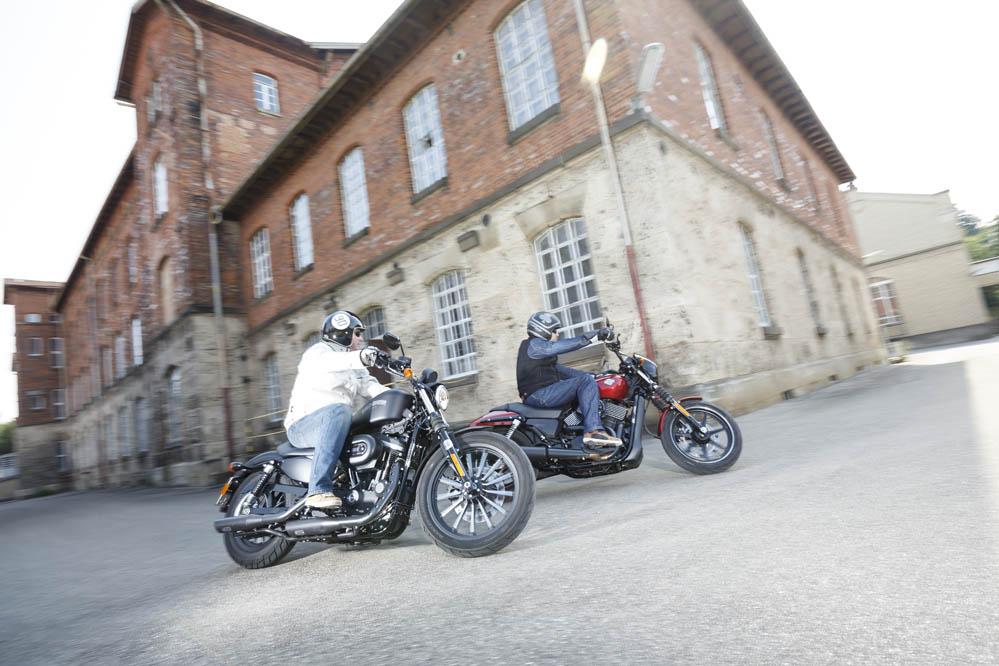 Comparativa Harley-Davidson 883 Sportster Iron y H-D Street 750. Galería