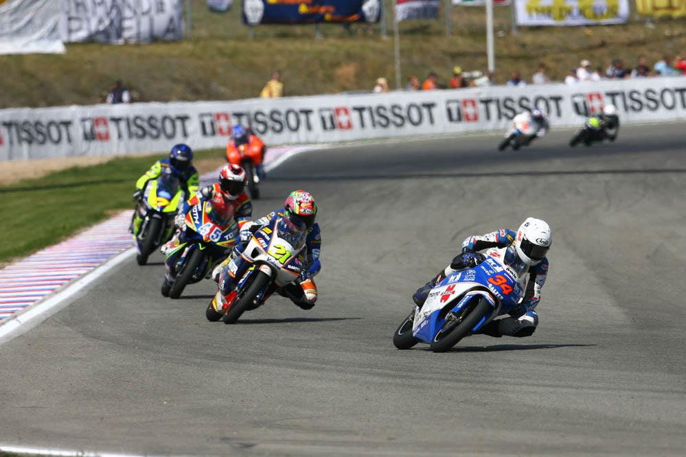 Debut en 2006 en 125cc sobre la Honda del Wurth Honda BQR