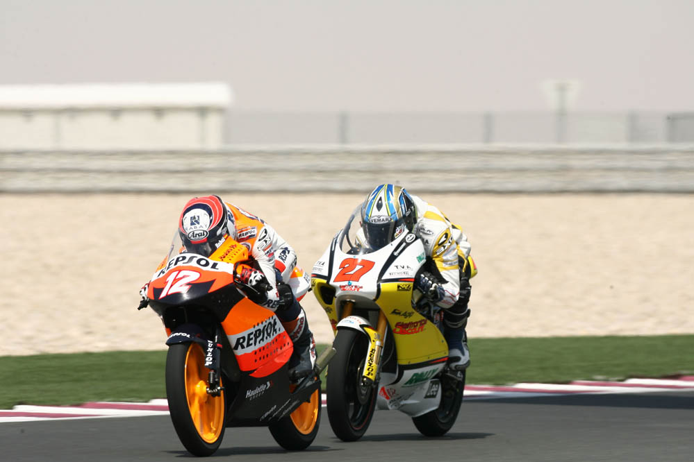 En 2007, firmó por el equipo oficial Repsol Honda Junior Team