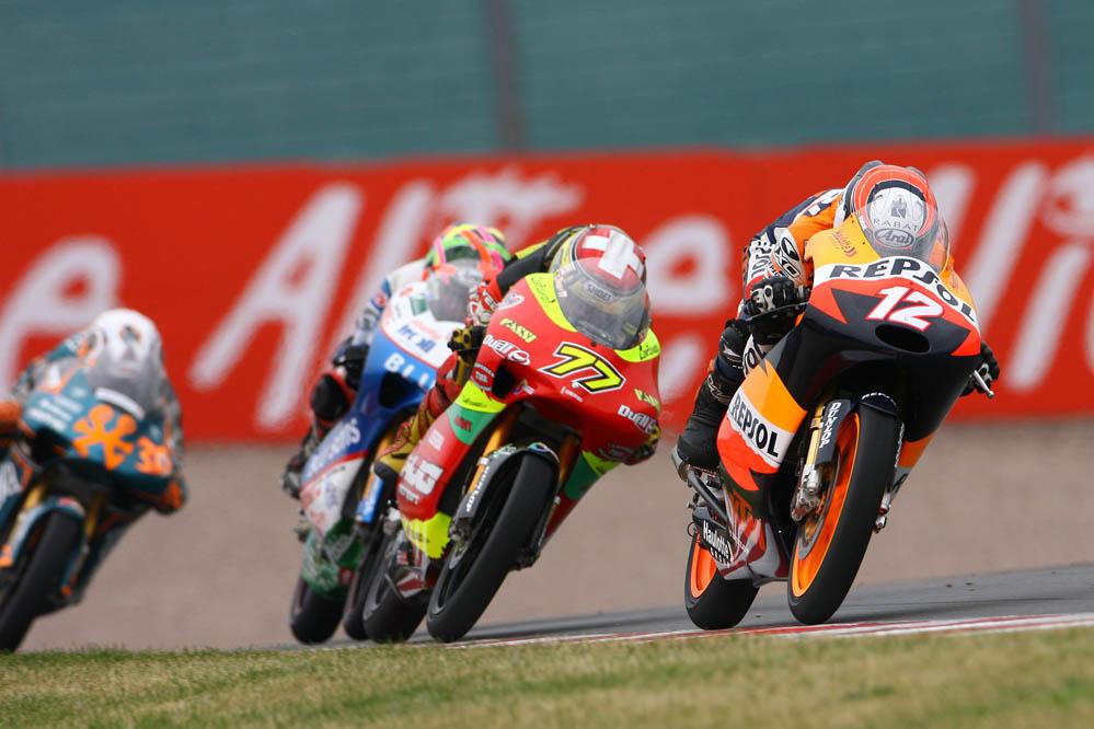 En 2008, el equipo cambia la Honda por una KTM