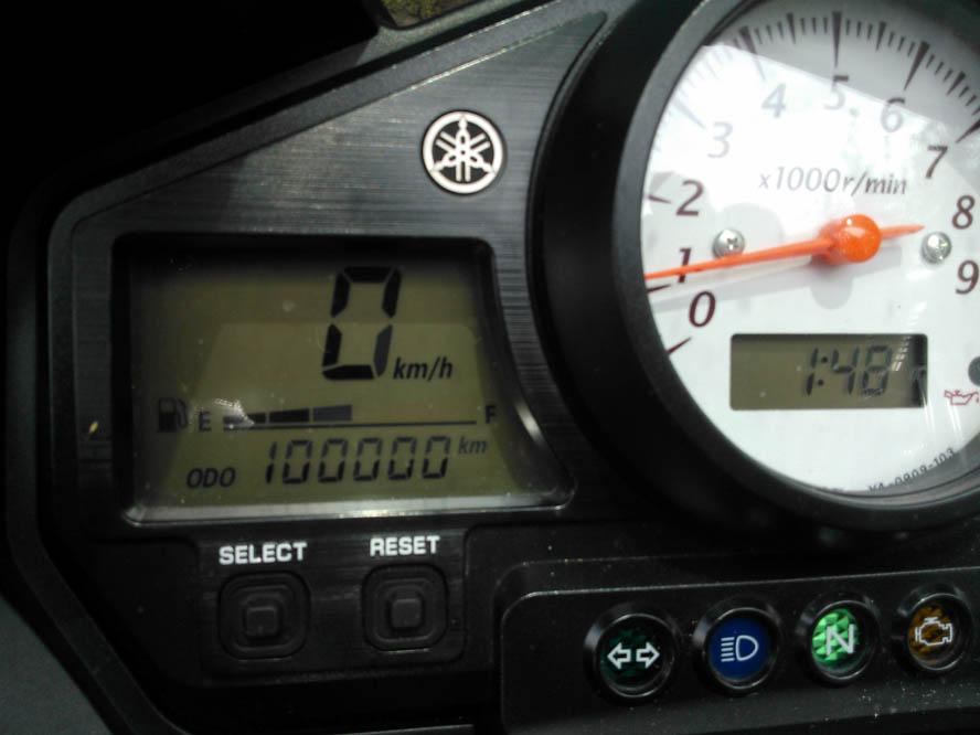 Objetivo 100.000 Yamaha TDM 900.Galería