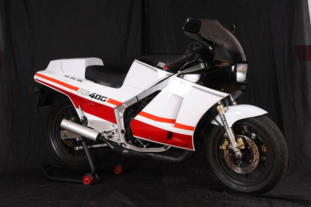 Clásica: Suzuki RG400 Gamma. Fotos