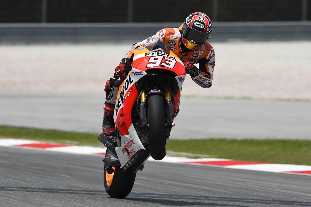 Las imágenes de MotoGP del GP de Malasia