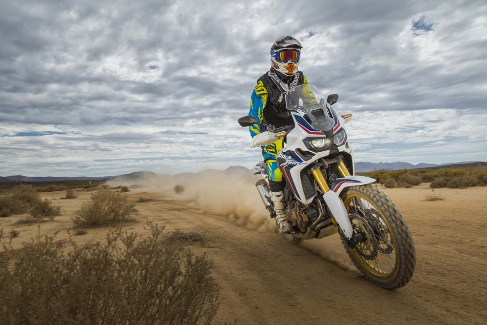 Honda Africa Twin 2015. Fotos