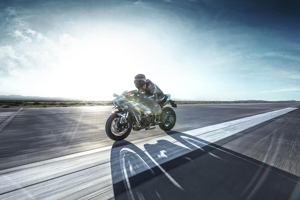 Kawasaki Ninja H2. Fotos