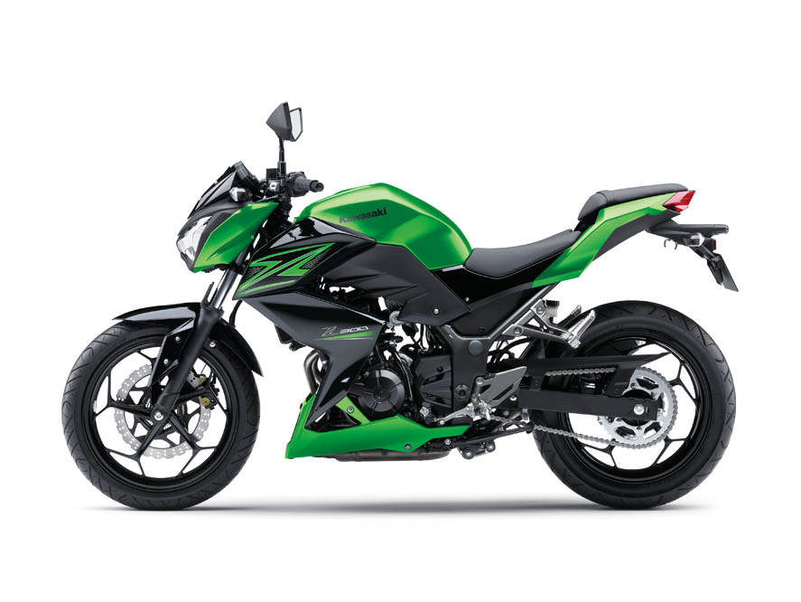 Kawasaki Z300 2015. Fotos