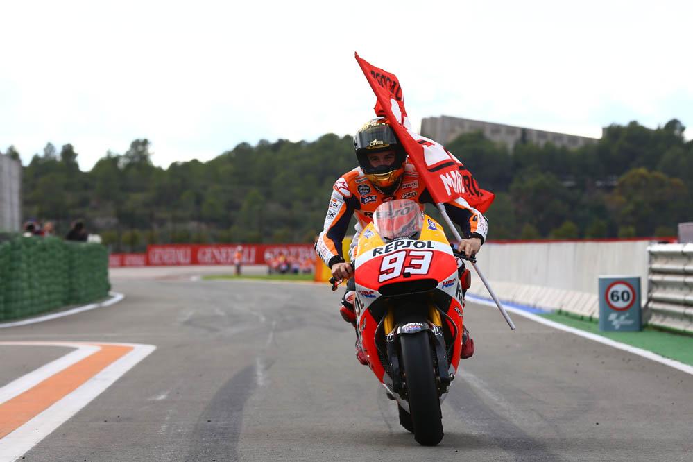 La carrera de MotoGP en Valencia