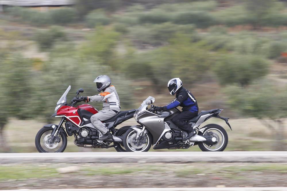 Comparativa Honda Crosstourer- Honda VFR1200F. Galería