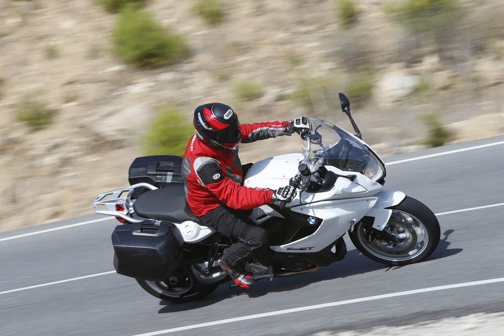 Fotos de la comparativa sport turismo: BMW, Honda, Kawasaki