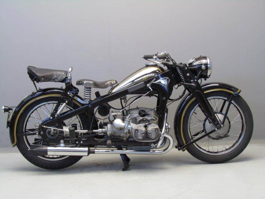 Moto clásica: Zündapp KS600. Galería