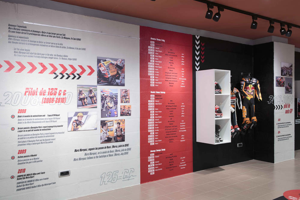 Fotos de la inauguración del Fan Club de Marc Márquez
