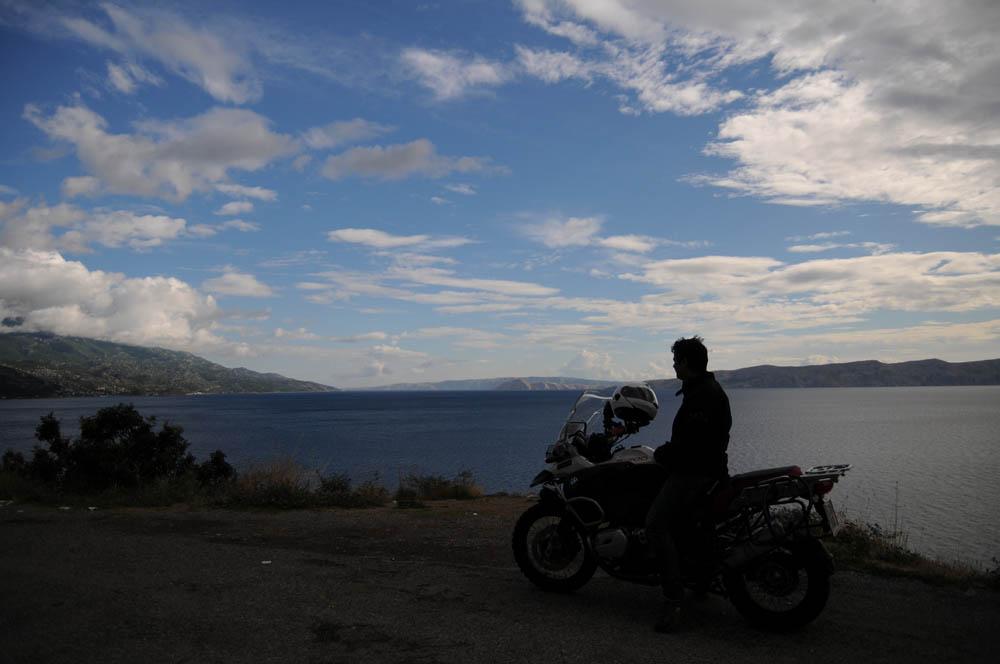 De Barcelona a Sidney en moto. Imágenes
