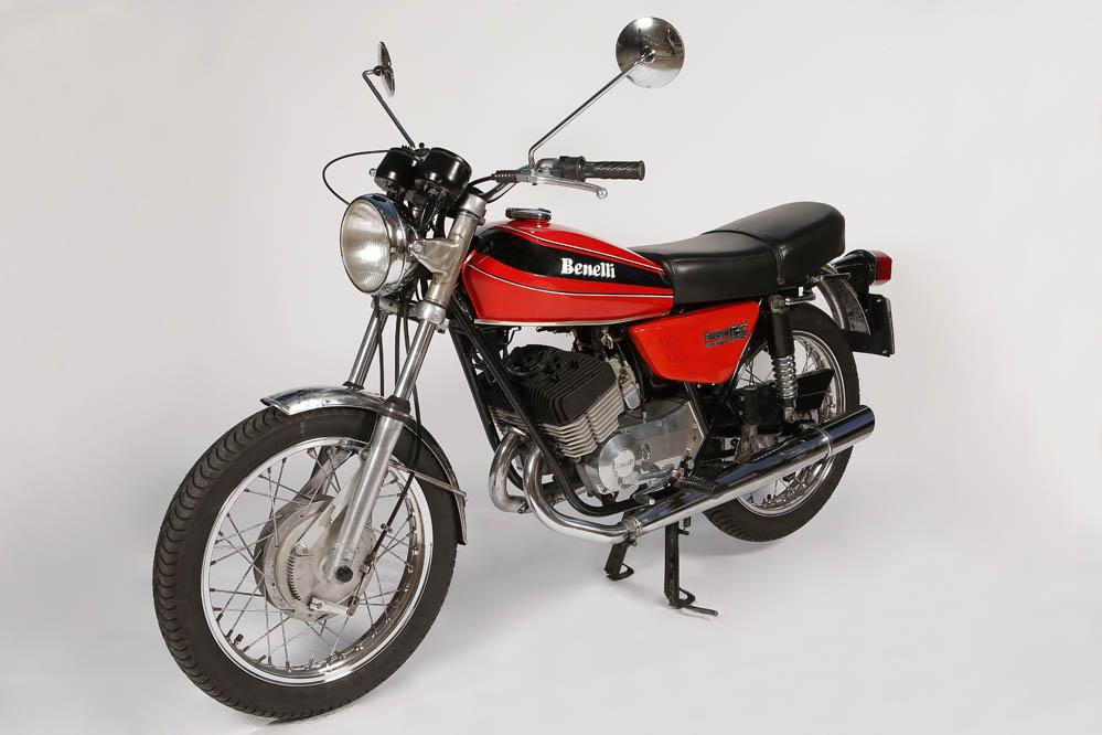 Moto clásica: Benelli 250 2c Elettronica. Galería