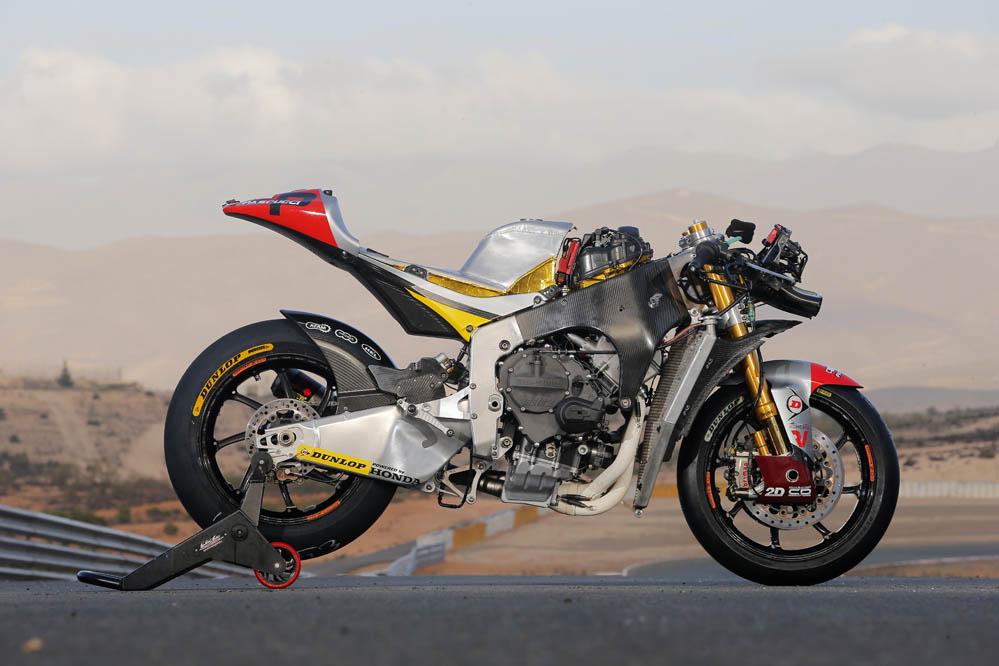 Imágenes de la prueba de la Kalex Moto2 Marc VDS.