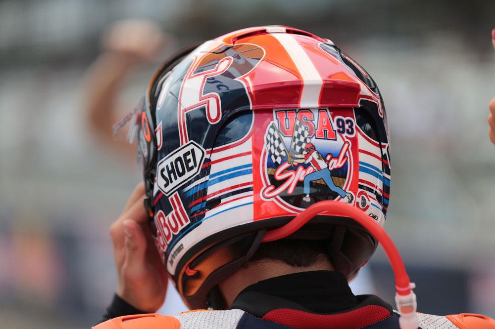 Los 27 mejores cascos especiales de MotoGP. Galería