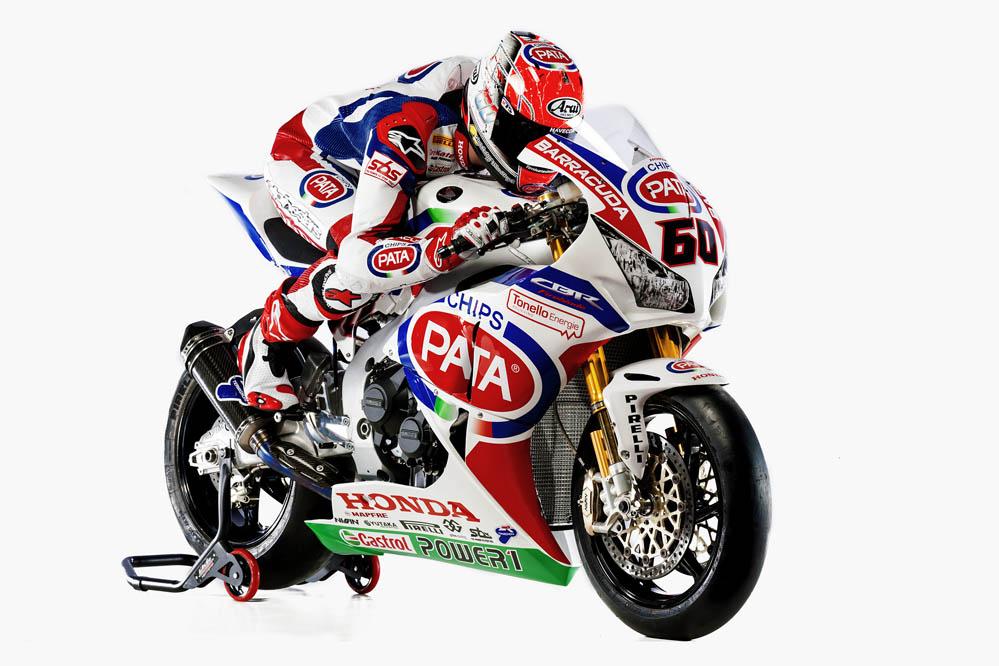 Presentado el equipo Honda oficial de Superbike