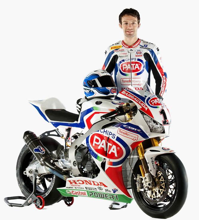 Sylvain Guintoli intentará darle a Honda el título de Superbike