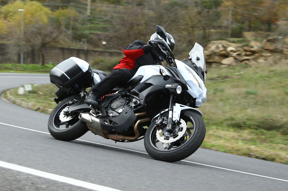 Kawasaki Versys 650 2015. Foto: Motociclismo.es