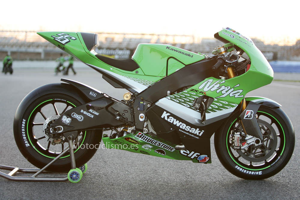 Las Kawasaki oficiales de MotoGP