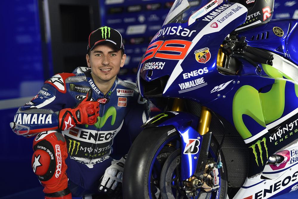 Las Yamaha de MotoGP 2015