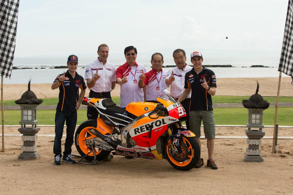 Presentación Repsol Honda Team 2015. Fotos