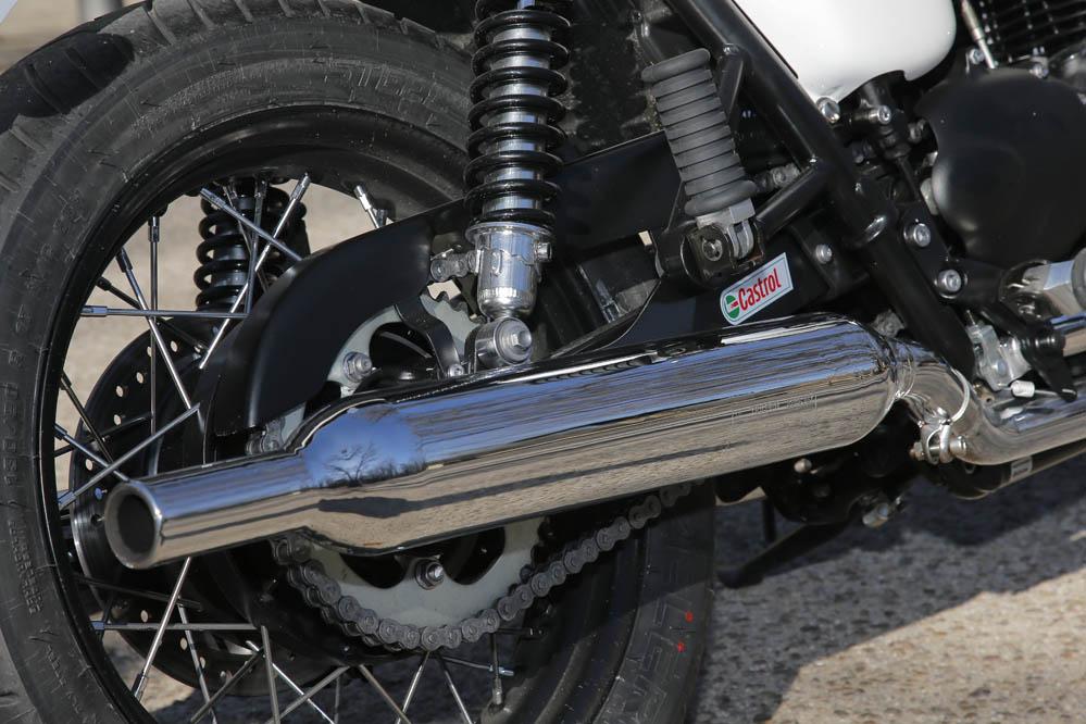 Prueba de la Triumph Bonneville T214. Galería