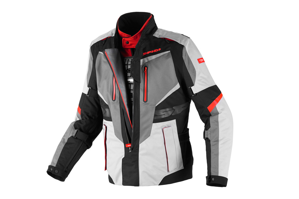 Chaqueta Spidi X-Tour H2Out. Fotos