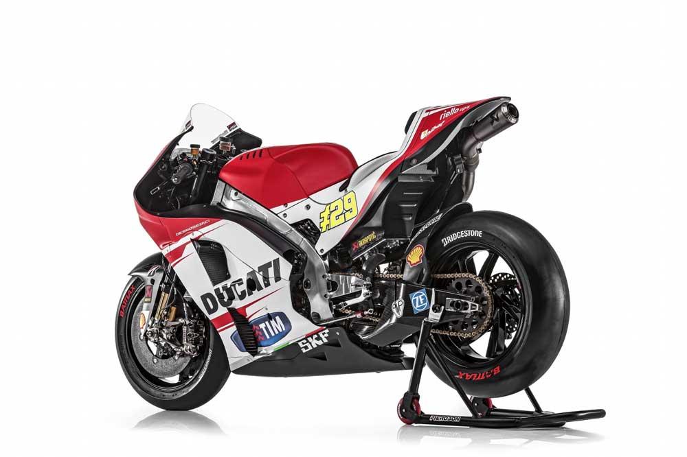 Ducati Desmosedici 2015. Fotos