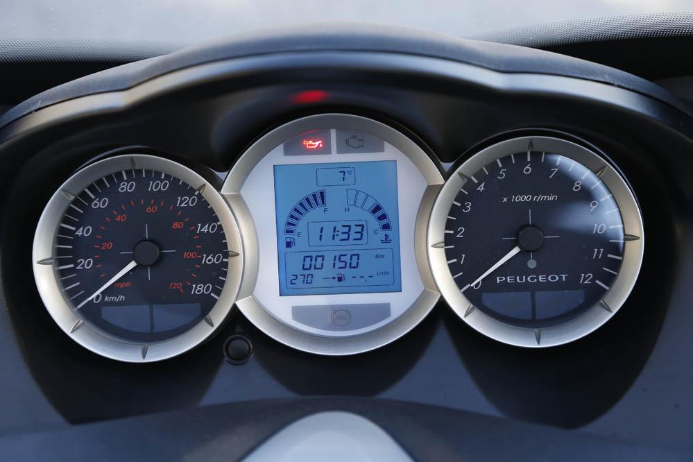 Prueba del Peugeot Satelis 400. Galería