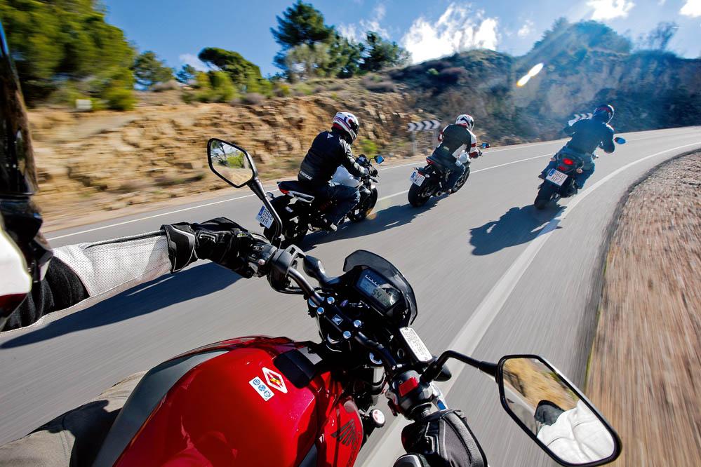 Comparativa naked: Honda NC750S, Kawasaki ER-6n, Suzuki Gladius 650, Yamaha MT-07. Galería