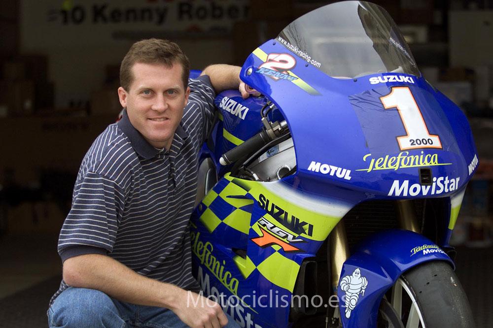 Kenny Roberts, campeón de 500 en 2000