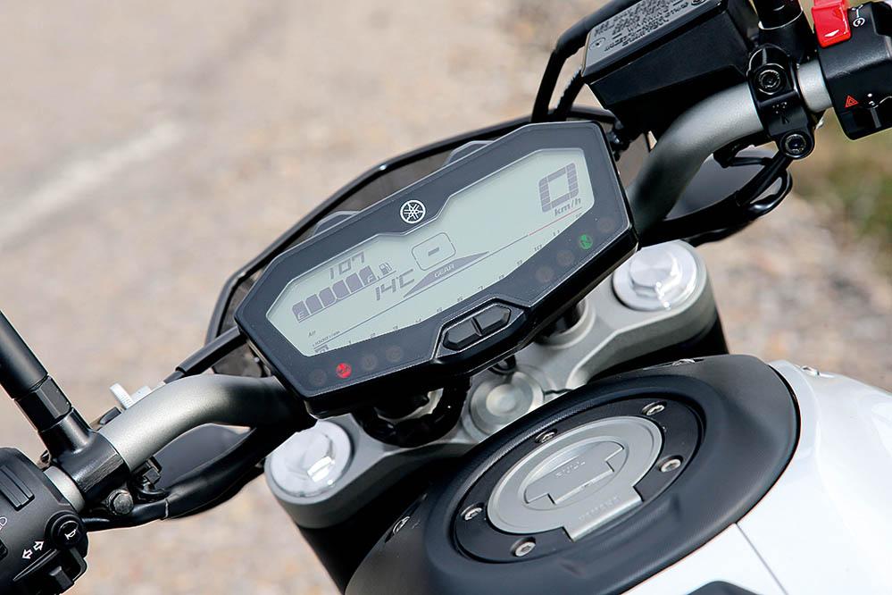 Comparativa Yamaha MT-07 y Yamaha MT-09. Galería