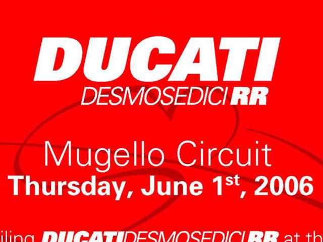 ¡La Ducati de MotoGP en la calle!
