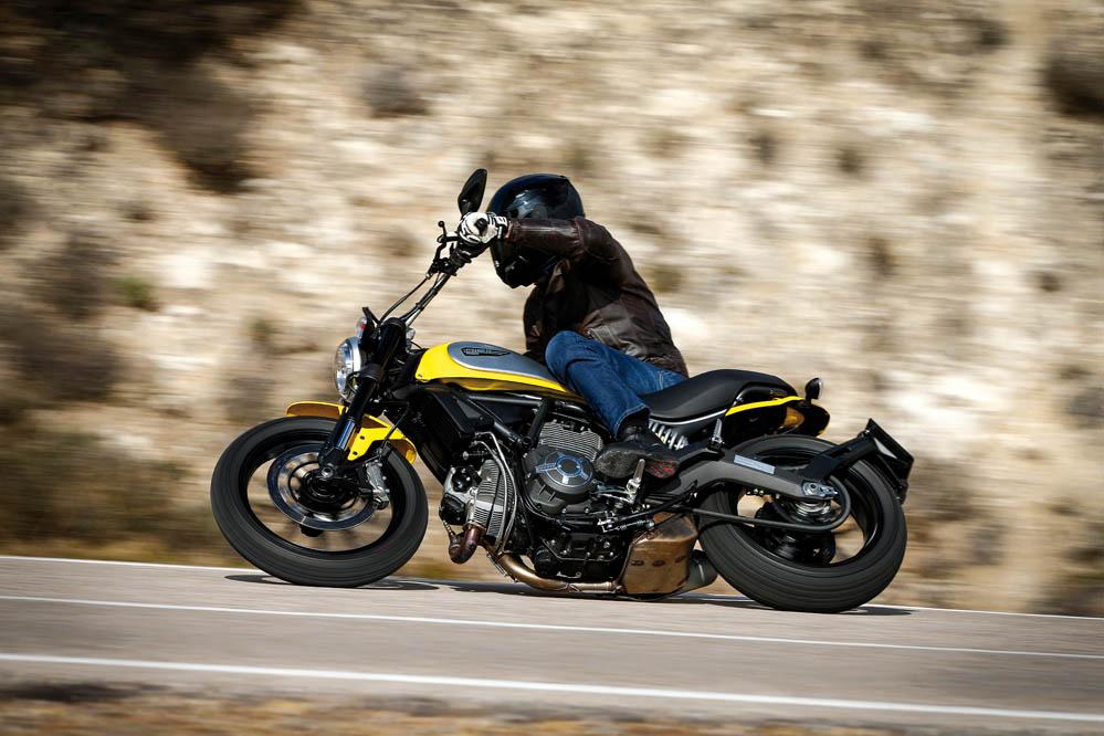 Prueba de la Ducati Scrambler Icon. Galería