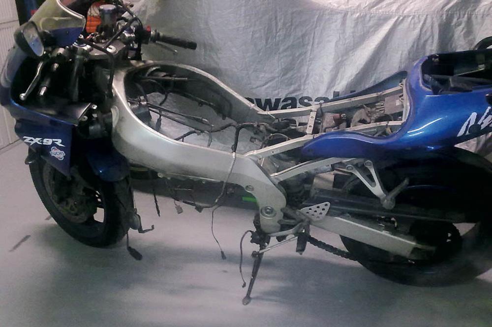 Objetivo 100.000: Kawasaki ZX-9R