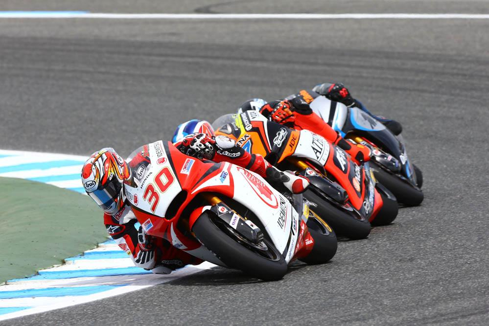 La carrera de Moto2 en el GP de España
