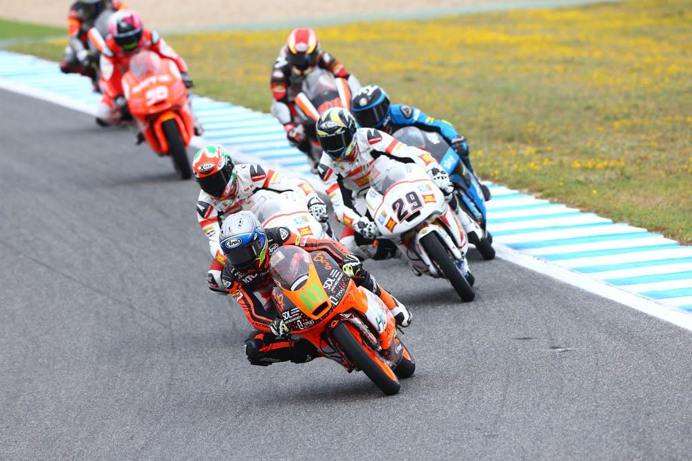 Las fotos de Moto3 en el GP de España