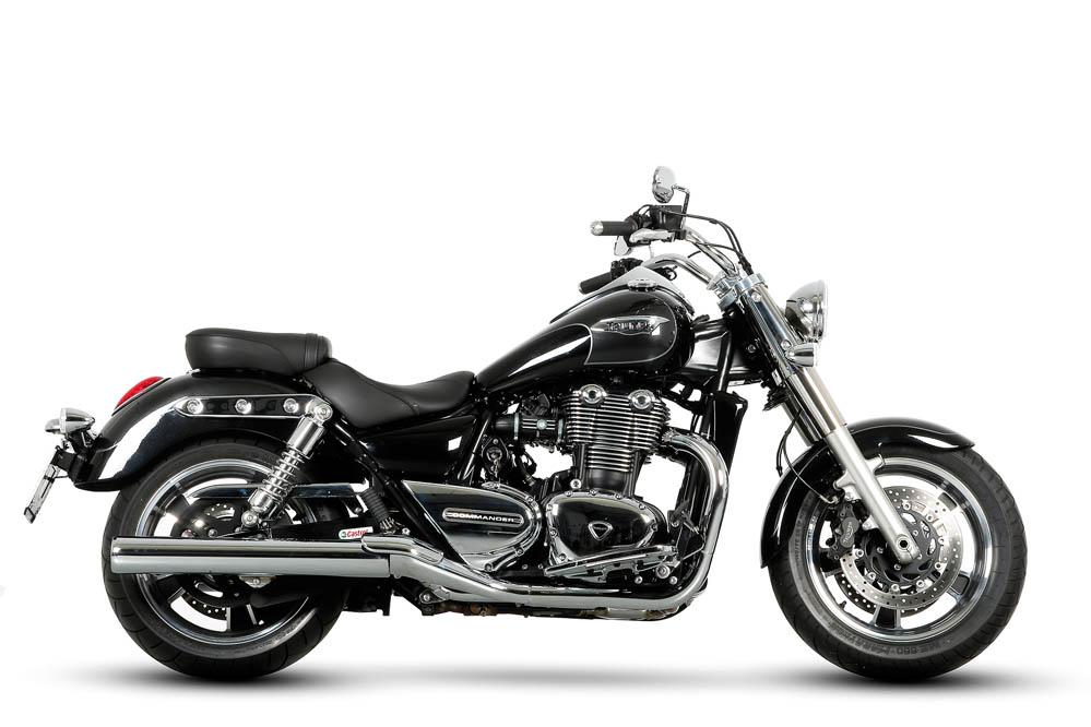 Comparativa Custom: Harley Davidson FXDF Fat Bob y Triumph Thunderbird Commander. Galería
