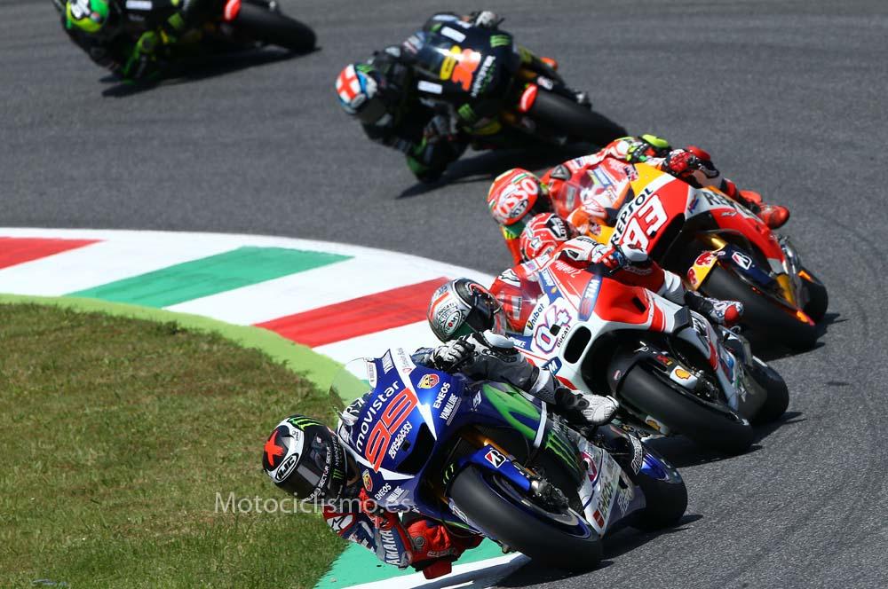 GP de Italia de MotoGP en fotos