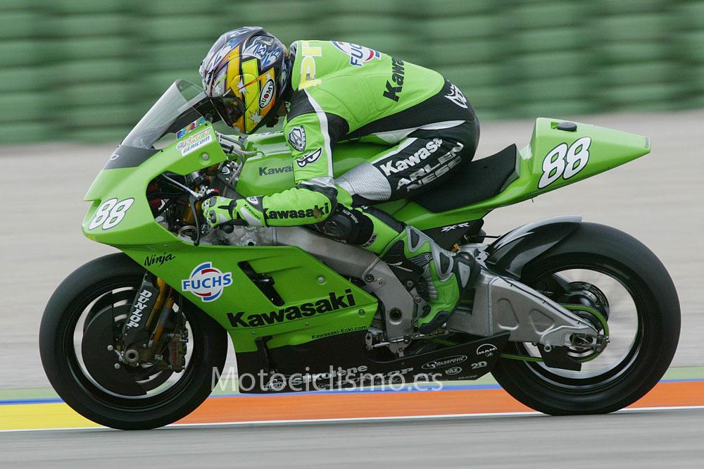 Motos de 500 y MotoGP sin patrocinador