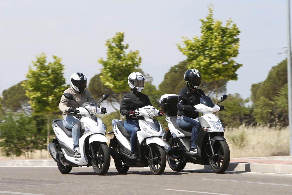 Comparativa Scooter: KYMCO, Suzuki, SYM