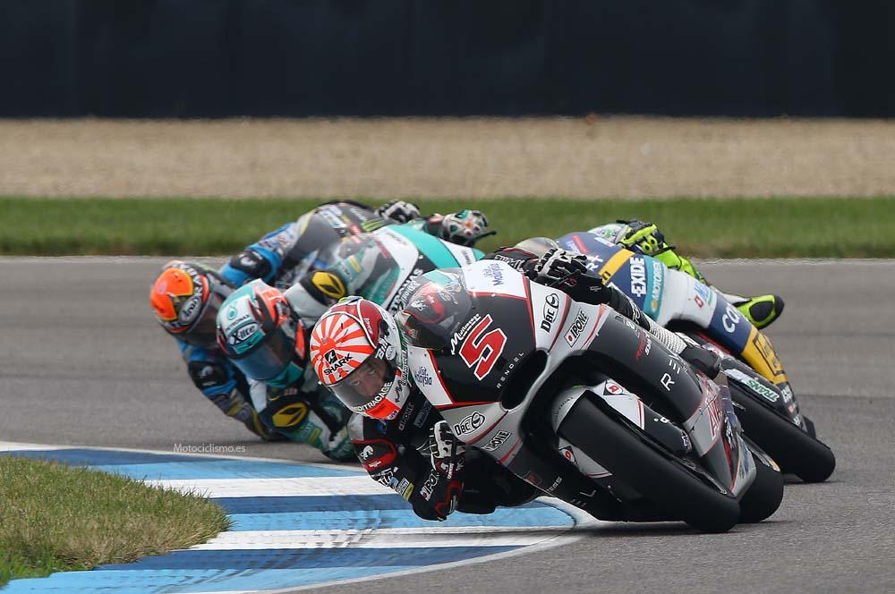 Las fotos de la carrera de Moto2