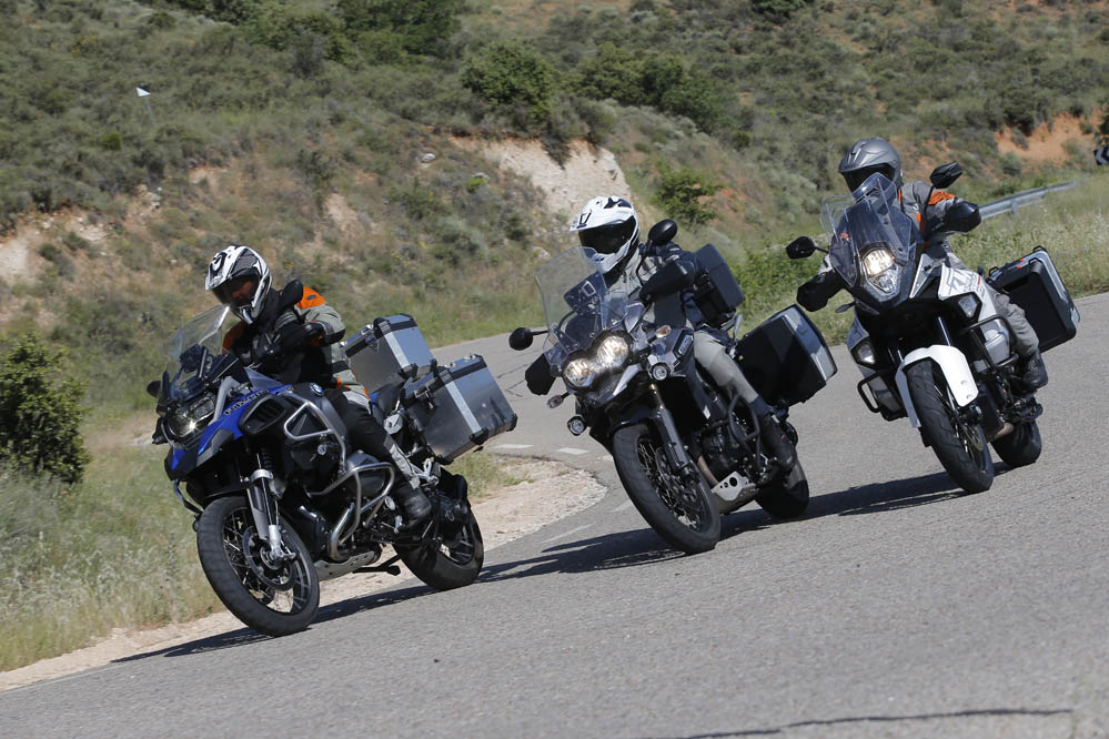 Comparativa: BMW R 1200 GS Adventure, KTM 1290 Superadventure, Triumph Tiger Explorer XC