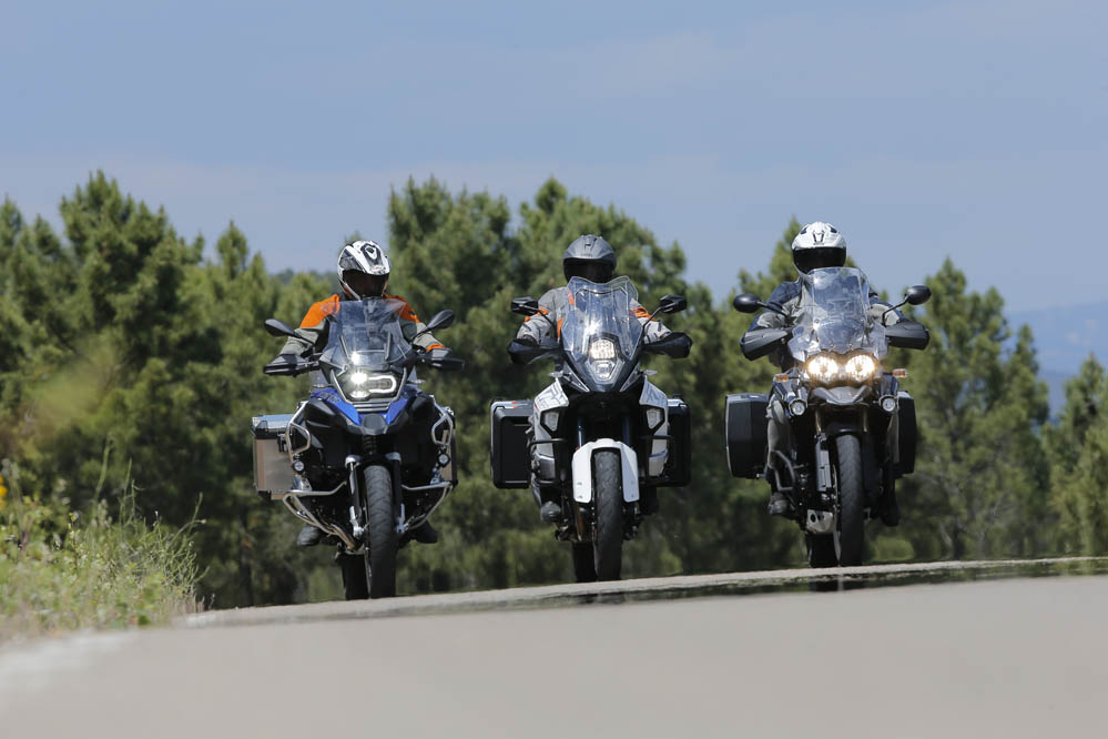 Comparativa: BMW R 1200 GS Adventure, KTM 1290 Superadventure, Triumph Tiger Explorer XC
