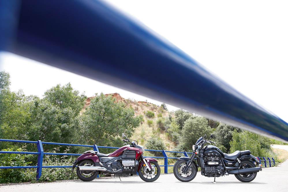 Comparativa Muscle Bikes: Honda Gold Wing F6C-Triumph Rocket X Limited EDI