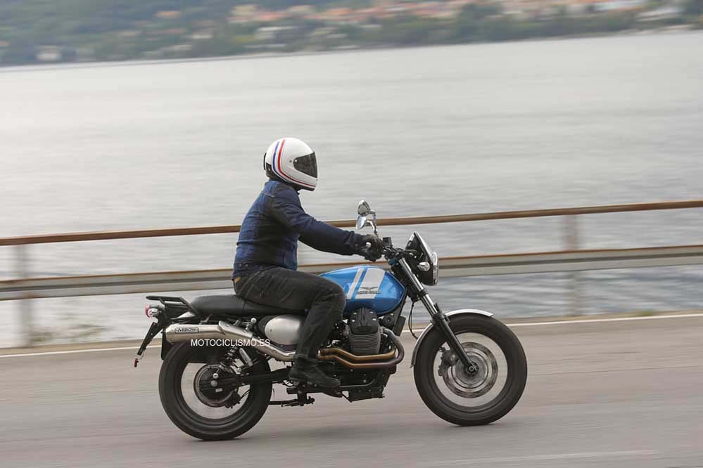 Prueba Moto Guzzi V7II Scrambler