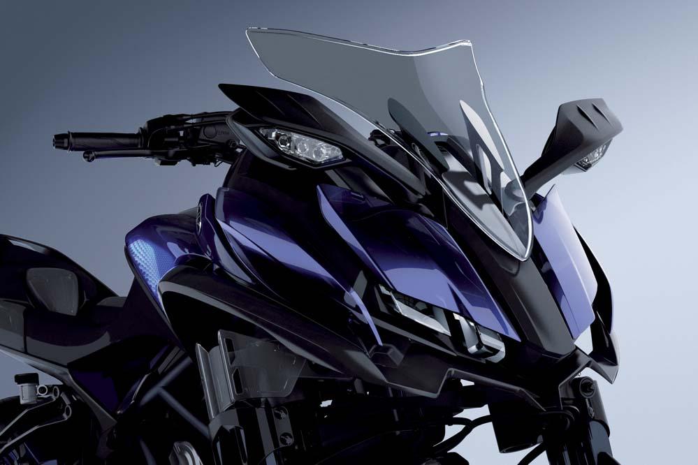 Galería de fotos del Yamaha MWT-9