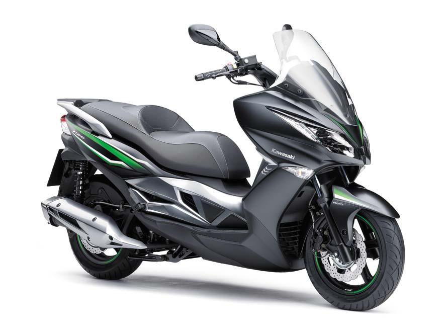 Fotos del Kawasaki J125 2016