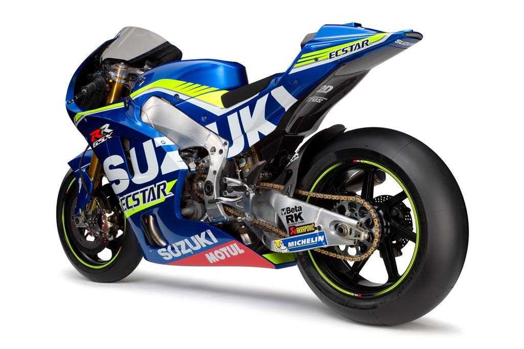 Suzuki GSX-RR MotoGP 2016. Fotos